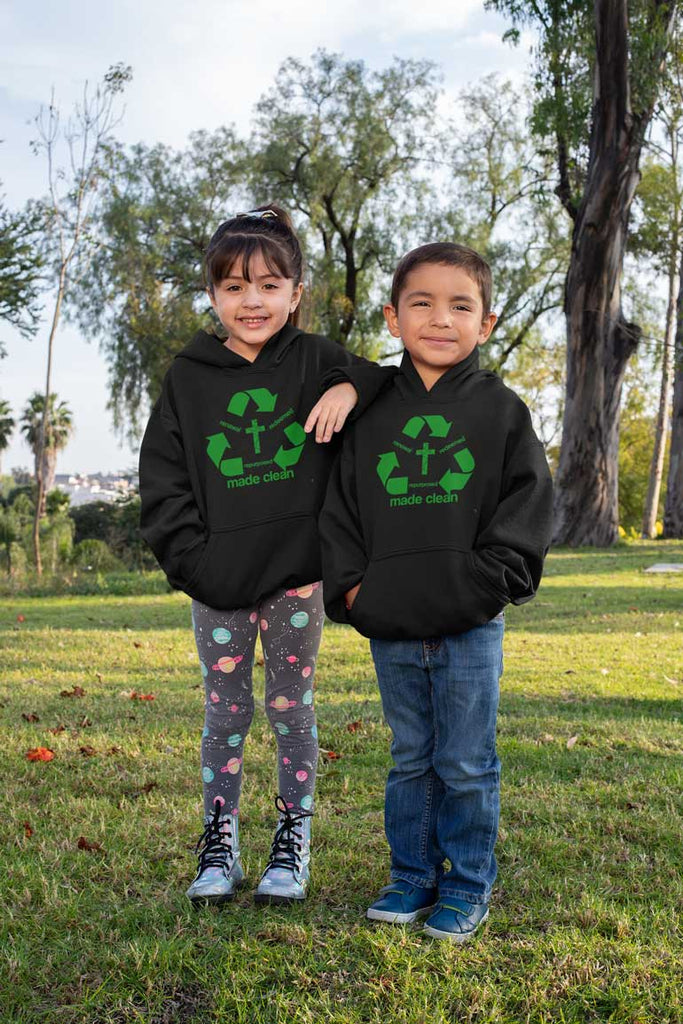 Recycle - Toddler Fleece Hoodie