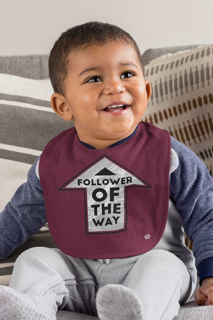 Follower of the Way - Baby Bib
