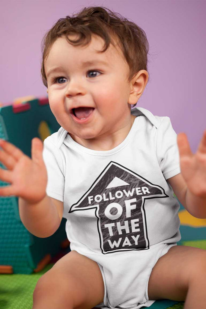 Follower of the Way - Baby Onesie