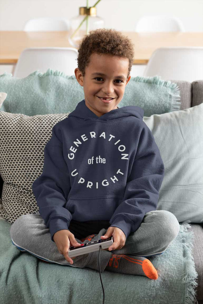 Generation of the Upright - Youth Pullover Hoodie
