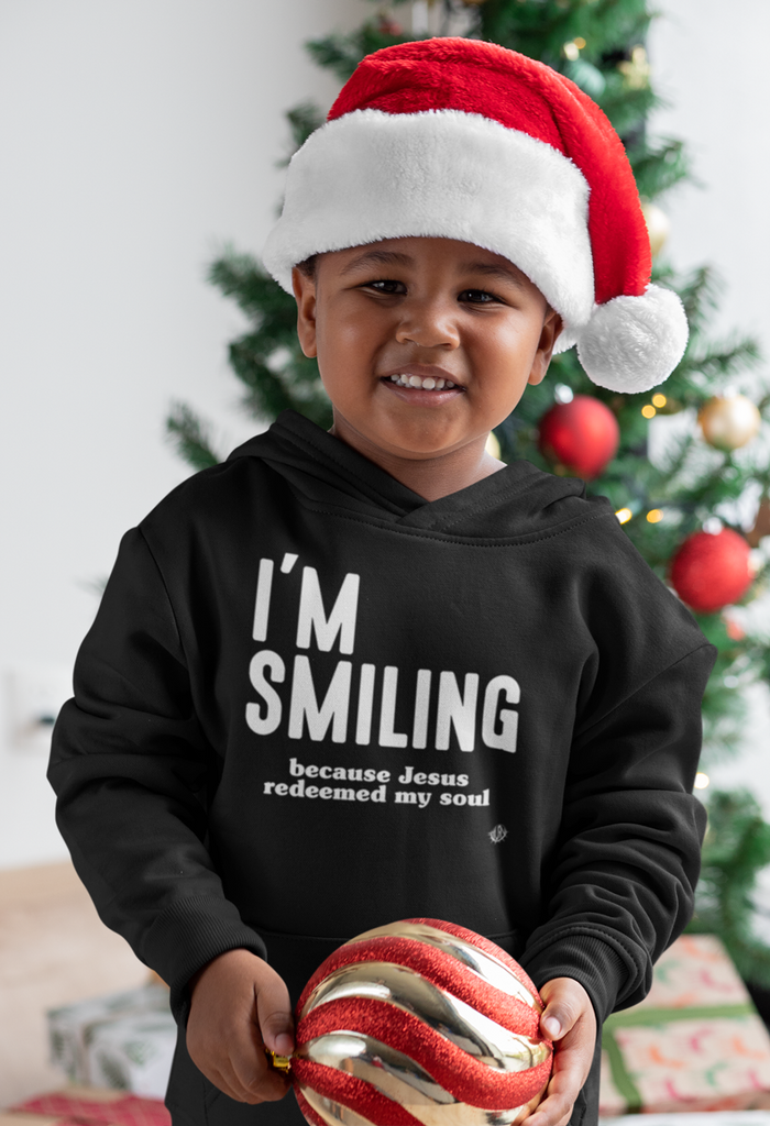 I'm Smiling - Toddler Fleece Hoodie