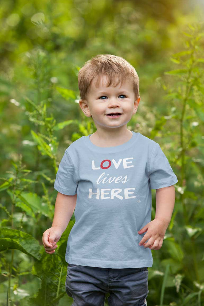 Love Lives Here - Toddler T-Shirt