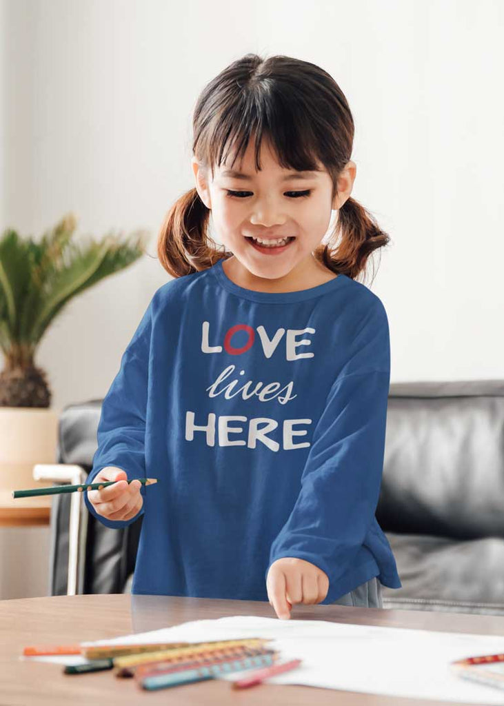 Love Lives Here - Youth Long Sleeve