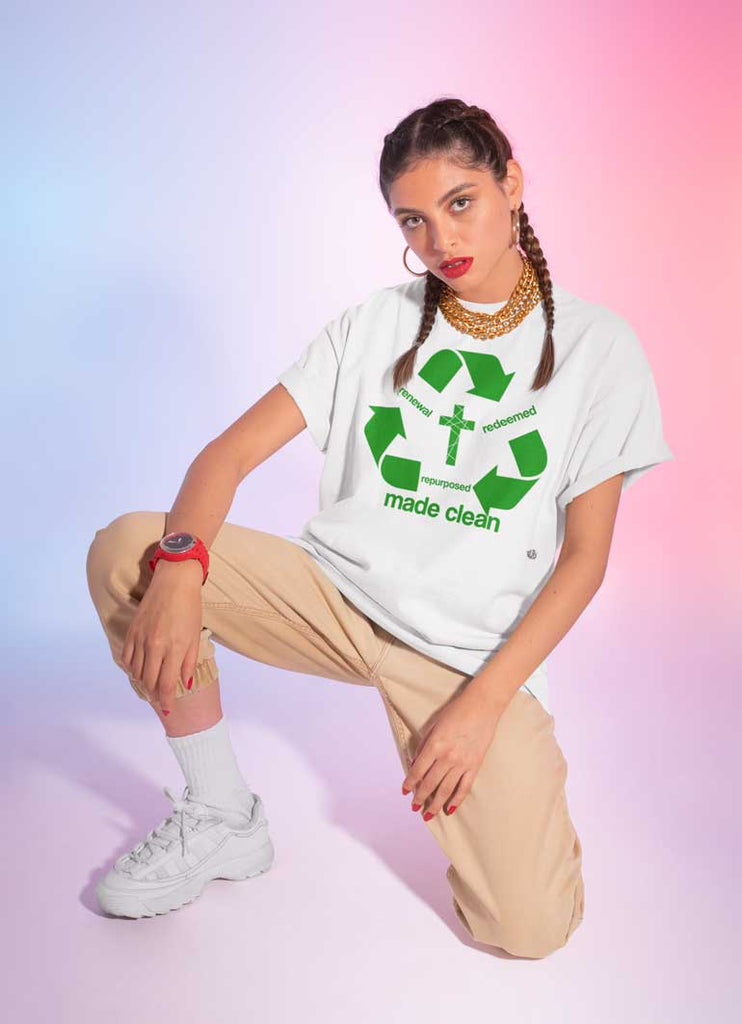 Recycle - Ladies'  T-Shirt