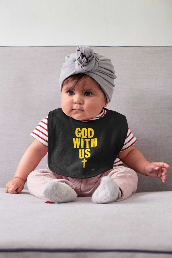 God With Us - Baby Bib