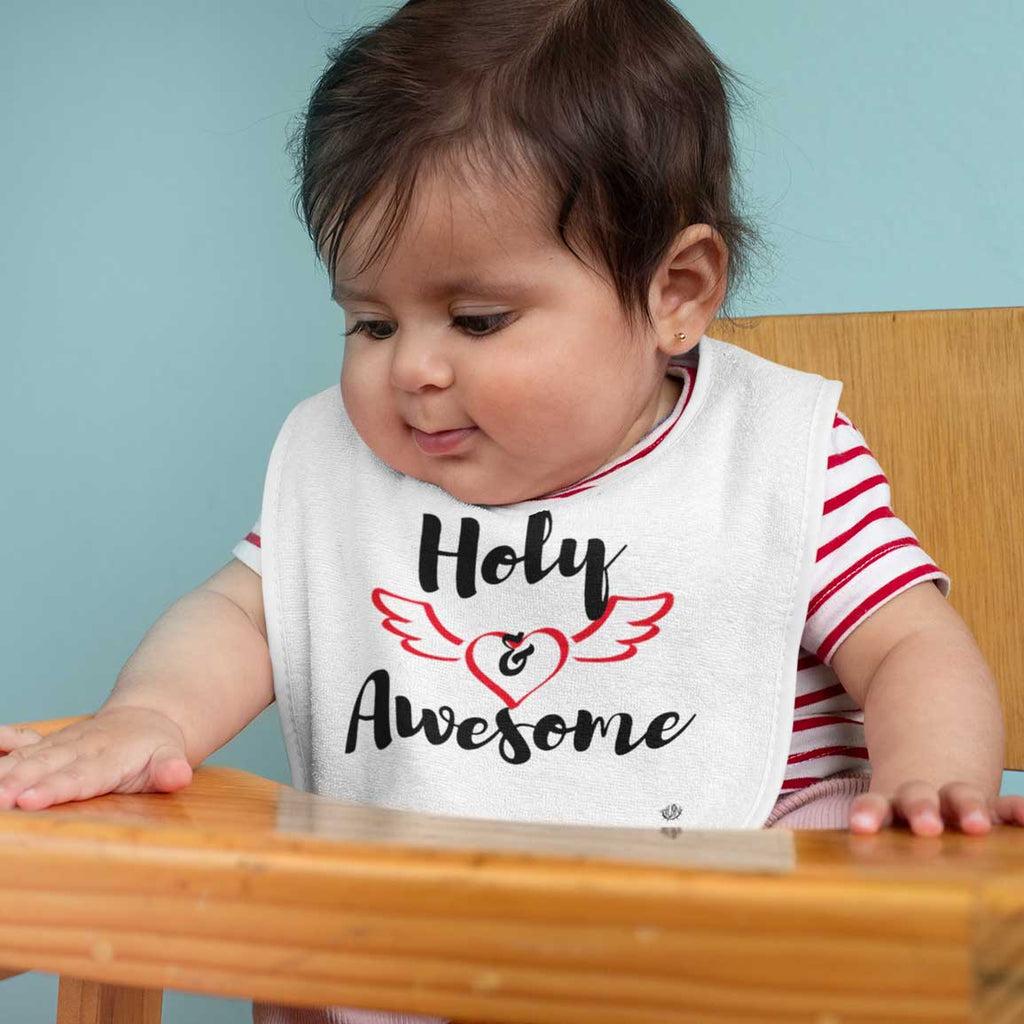 Holy & Awesome - Baby Bib
