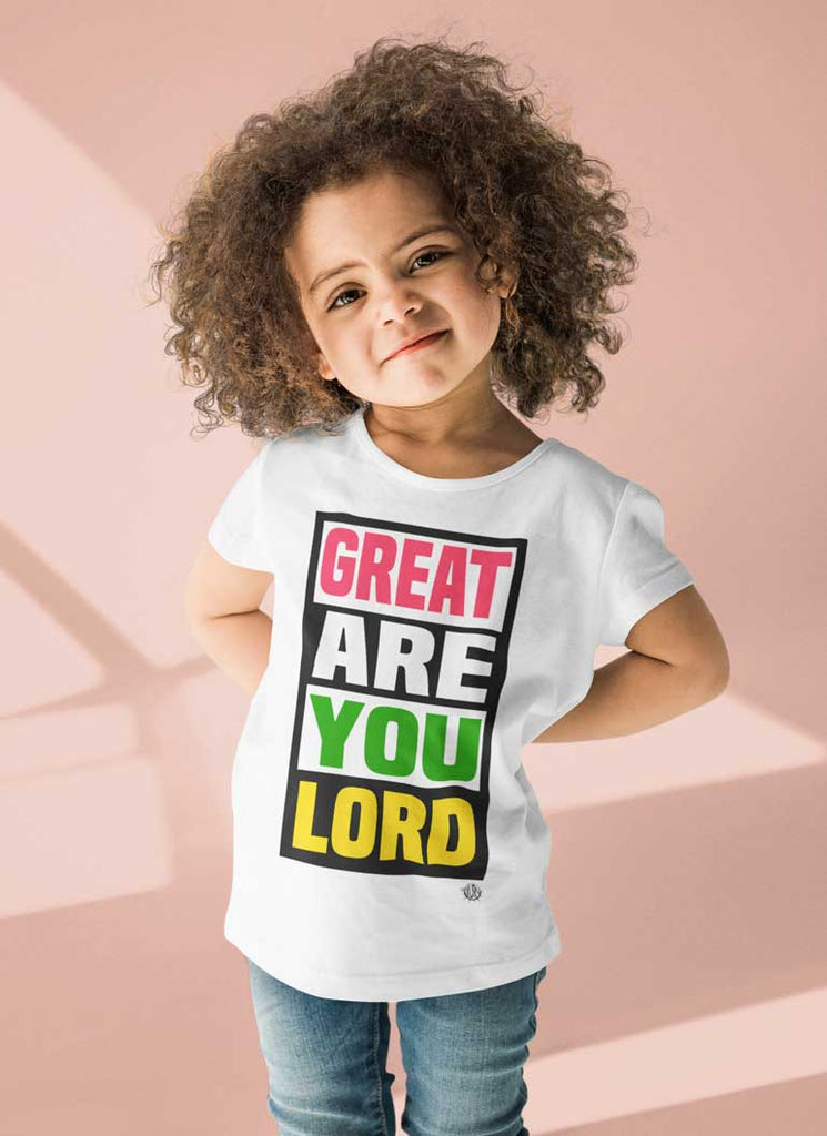 Great Are You Lord - Toddler Jersey T-Shirt