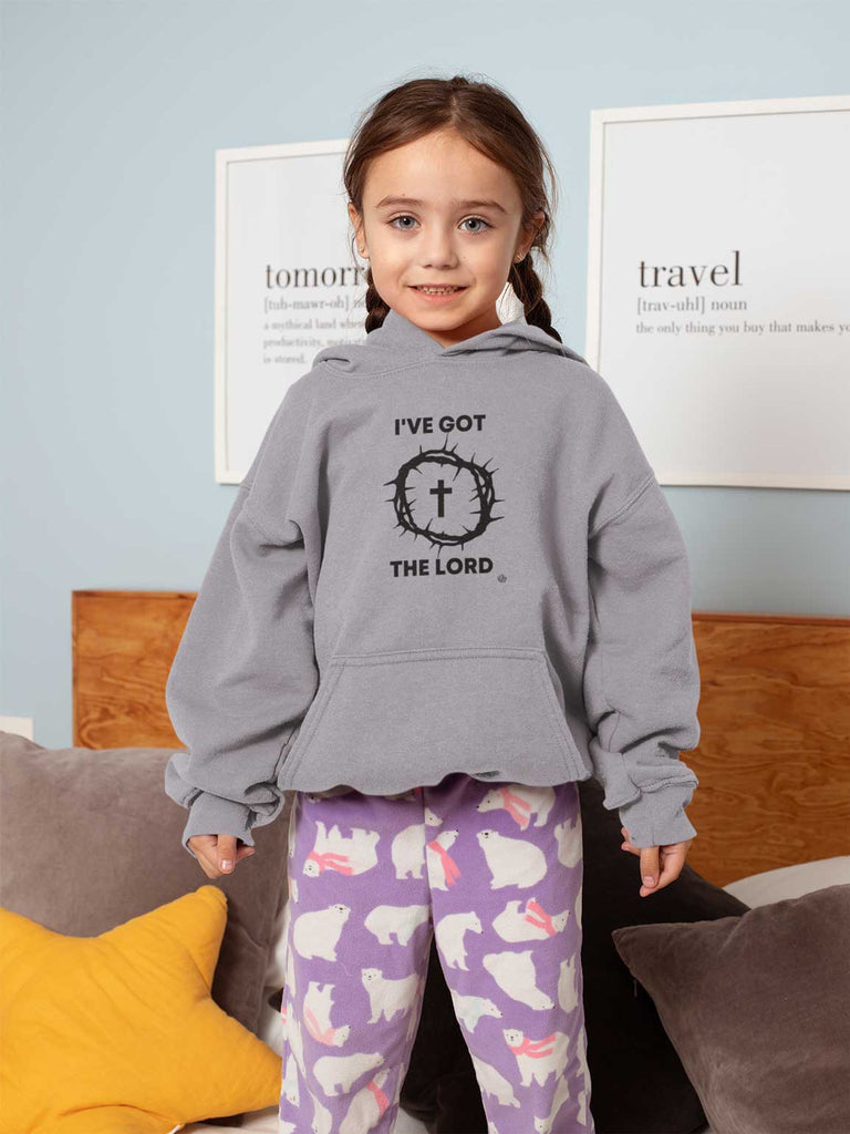 I've Got the Lord - Toddler Fleece Hoodie