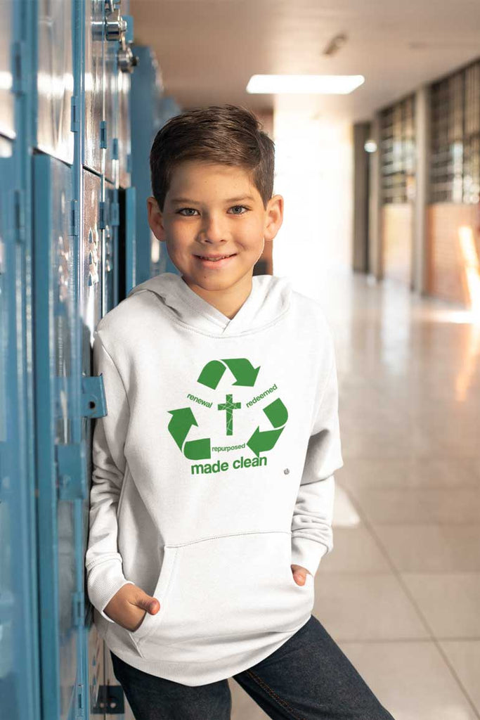 Recycle - Youth Pullover Hoodie