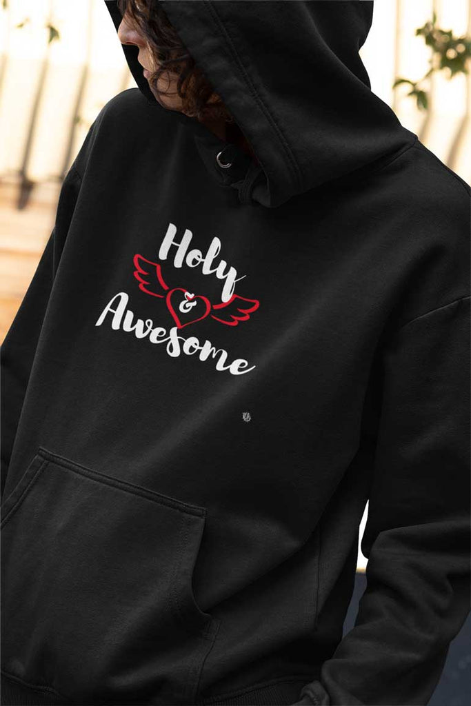 Holy & Awesome - Ladies' Pullover Hoodie
