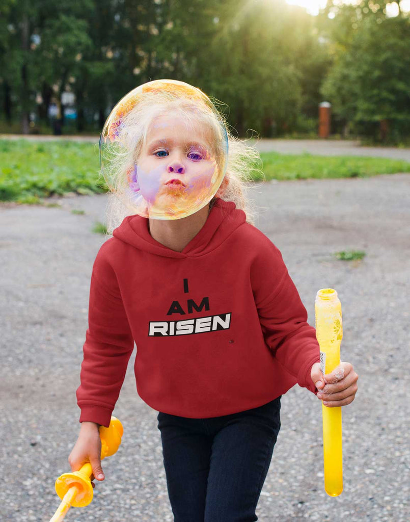 I am Risen -  Toddler Fleece Hoodie