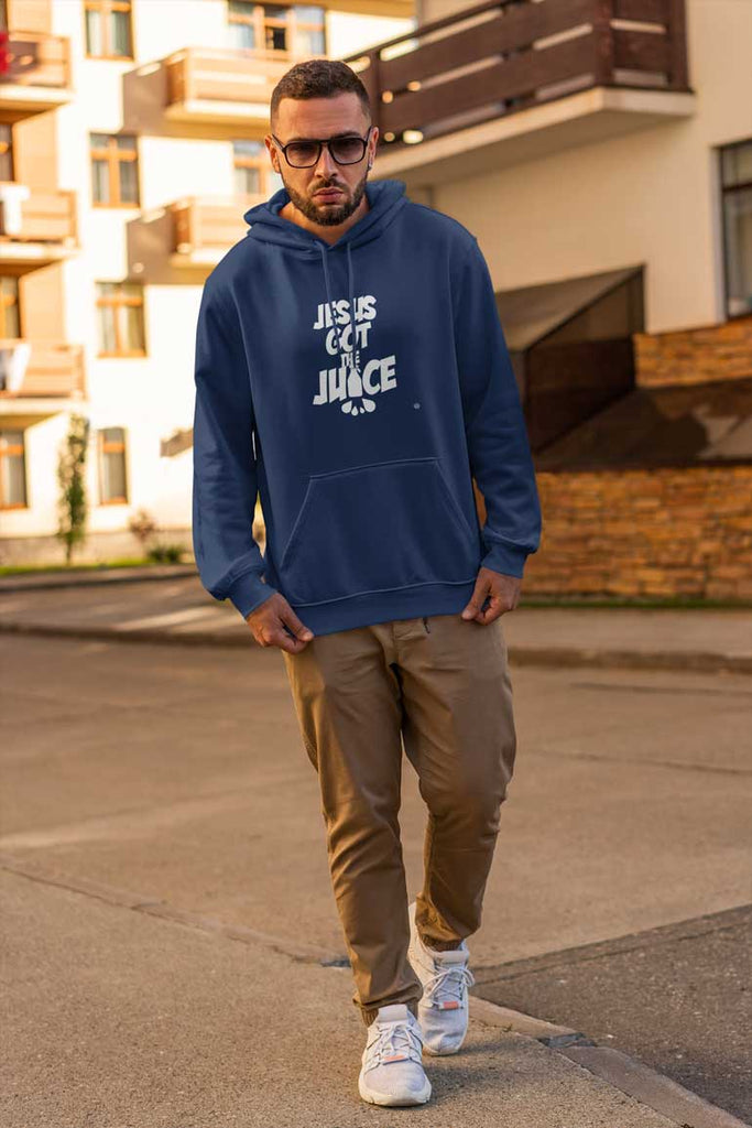 Jesus Got The Juice - Men's Pullover Hoodie