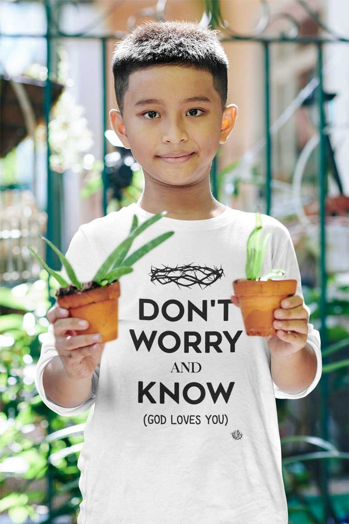 Don't Worry, Know - Youth Long Sleeve Shirt