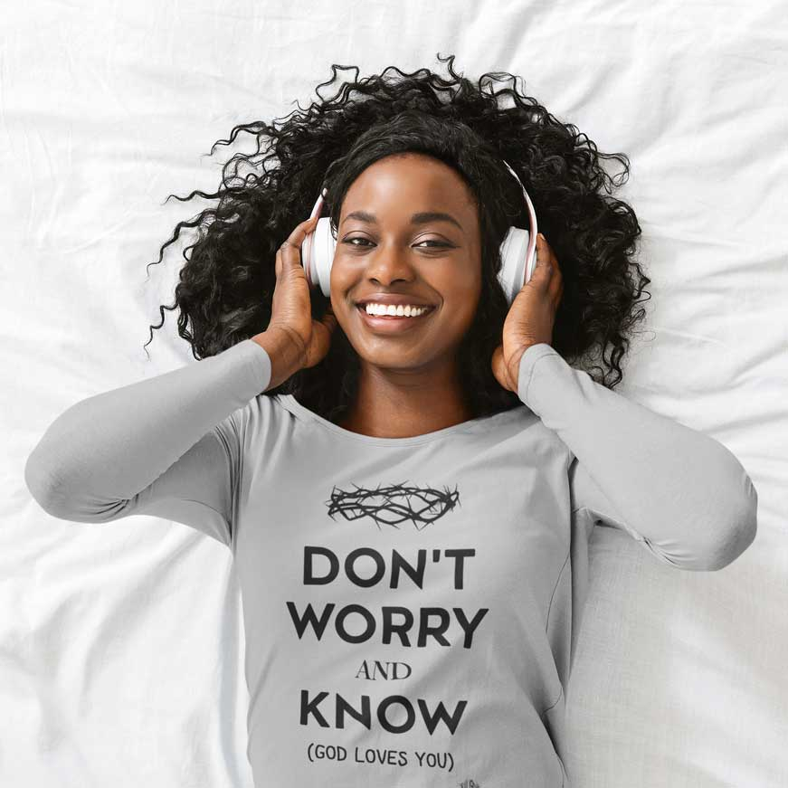 Don't Worry, Remember - Ladies' Long Sleeve Shirt