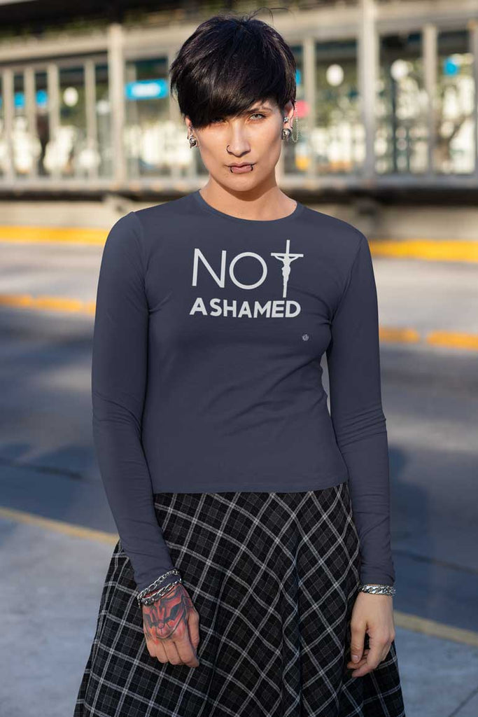 Not Ashamed-  Ladies' Long Sleeve