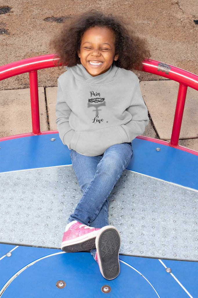 Pain Is Love - Toddler Fleece Hoodie