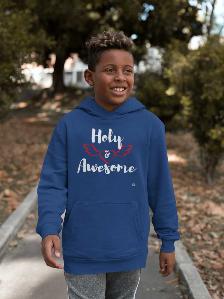 Holy & Awesome - Youth Pullover Hoodie