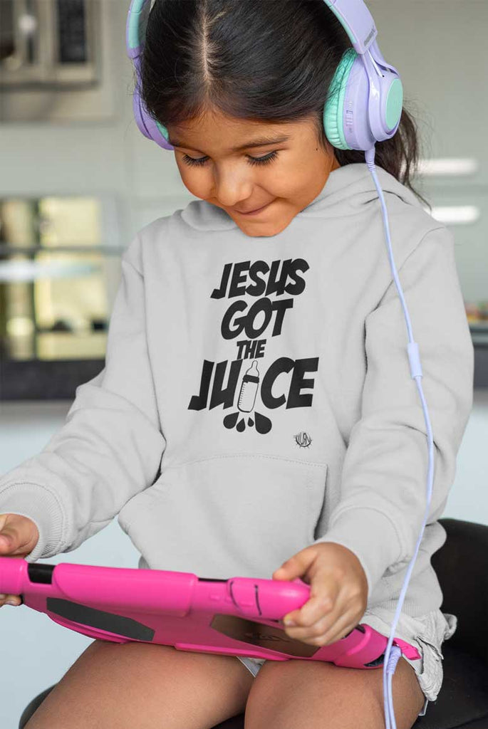 Jesus Got The Juice  - Toddler Fleece Hoodie
