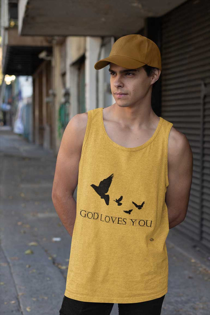 God Loves You - Men's Tank Top