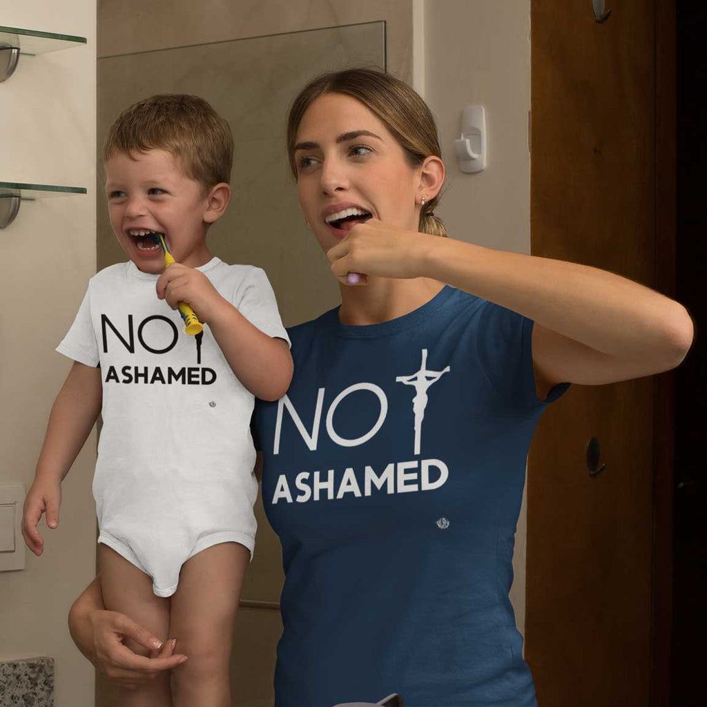 Not Ashamed -  Baby Onesie