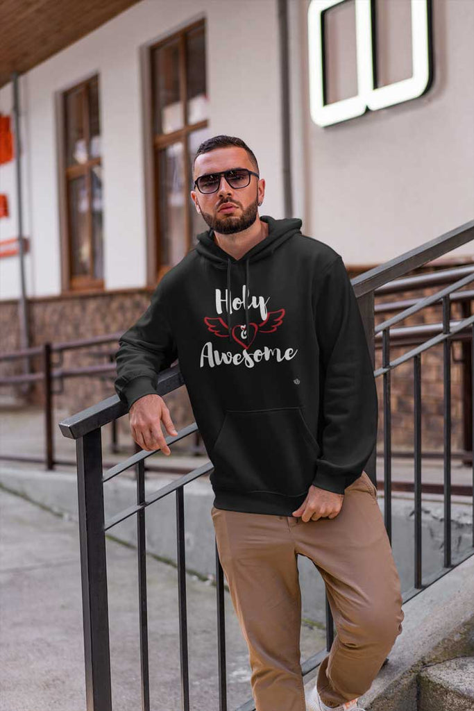 Holy & Awesome - Men's Pullover Hoodie