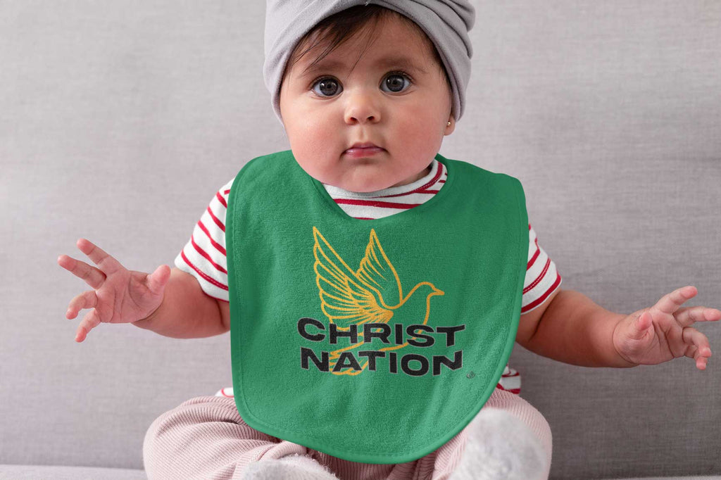 Christ Nation - Baby Bib