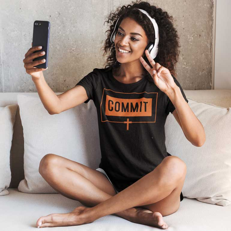 Commit - Ladies' T-Shirt