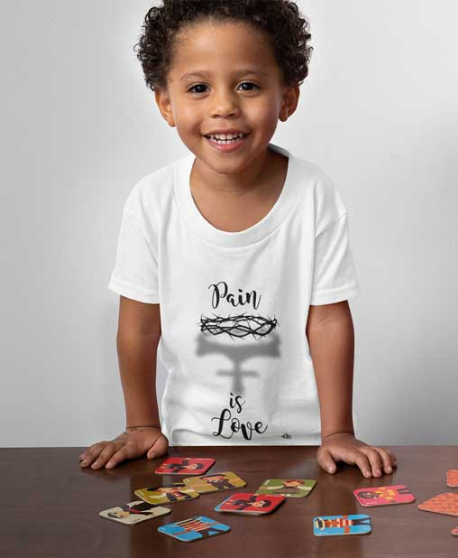 Pain Is Love - Toddler Jersey T-Shirt