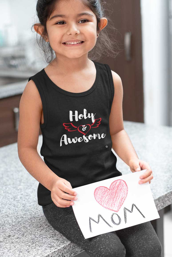 Holy & Awesome - Youth Jersey Tank