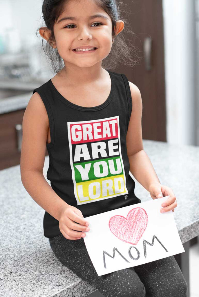 Great Are You Lord - Youth Jersey Tank