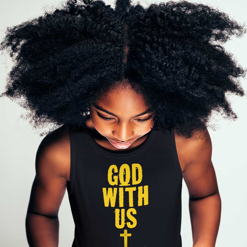 God With Us - Youth Jersey Tank