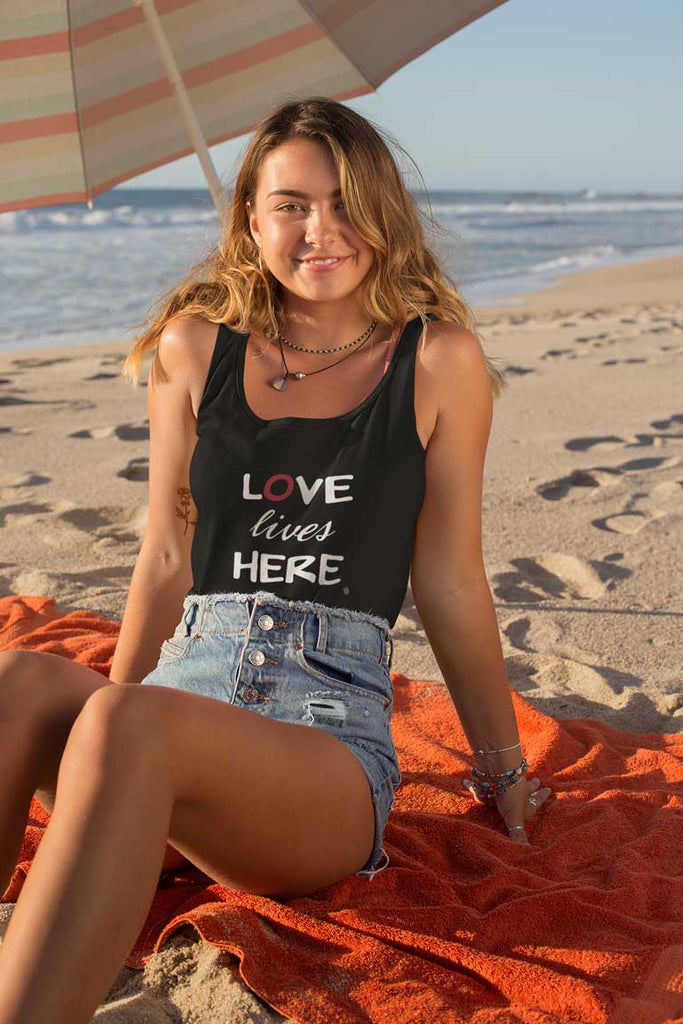 Love Lives Here - Youth Tank Top