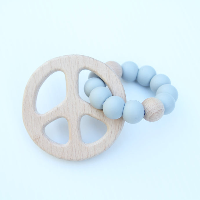 PEACE SIGN TEETHERS