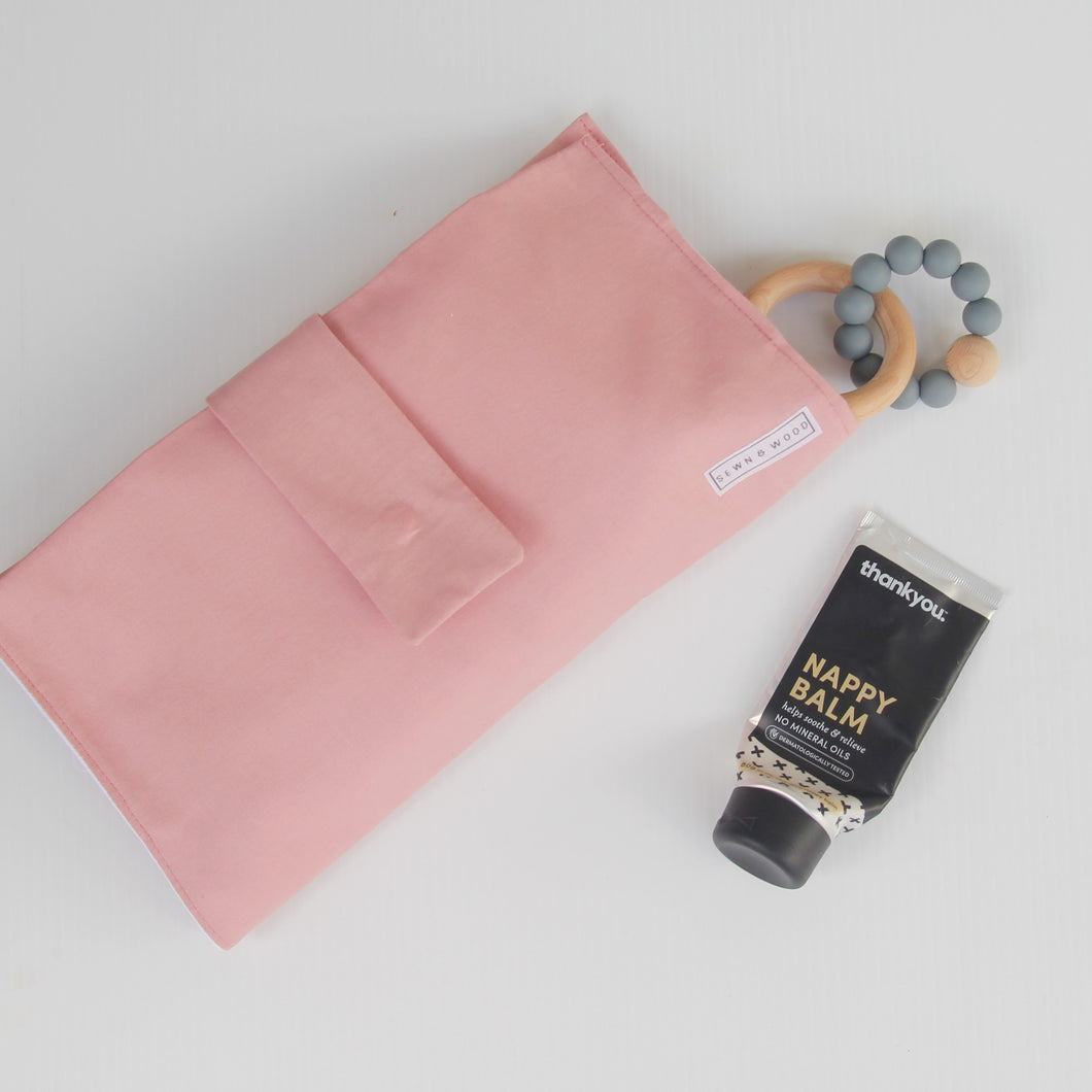NAPPY WALLET - DUSTY PINK