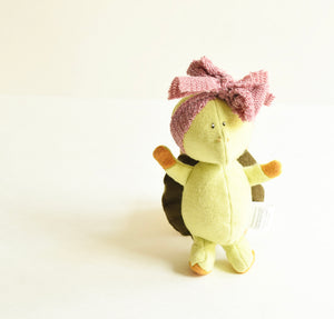 Turtle Friend, Handmade organic critter friend