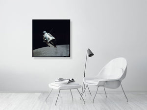 Apollo 17 Command and Service Module in lunar orbit - ART GOODS SHOP