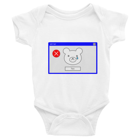 """error window"" Baby Infant Bodysuit - ART GOODS SHOP"