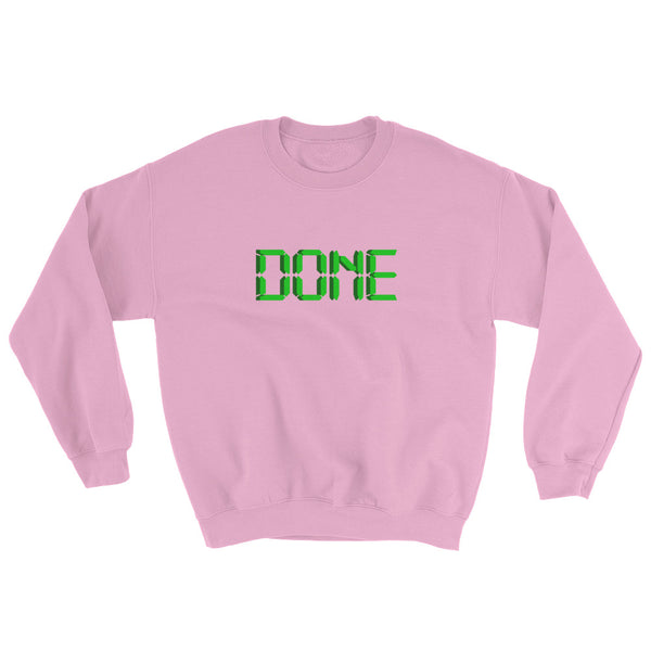 "Sweatshirt ""DONE"" for Your Kanban Board - ART GOODS SHOP"