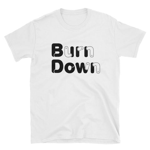 "Developer's Unisex T-Shirt ""Burn Down"" - ART GOODS SHOP"