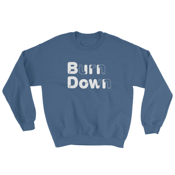 "Developer's Sweatshirt ""Burn Down"" - ART GOODS SHOP"