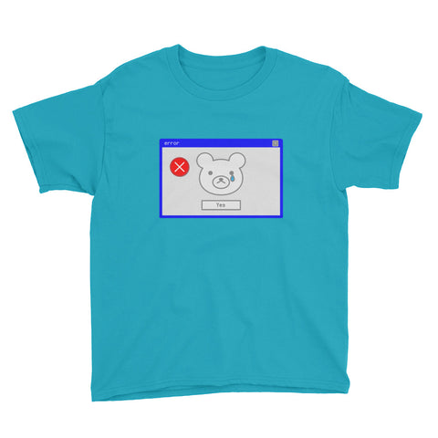 "Short sleeve kids t-shirt ""error window"" (8 yrs-) - ART GOODS SHOP"