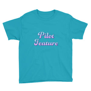"Kids Developer's t-shirt ""Pilot Feature"" (8 yrs-) kids clothes - ART GOODS SHOP"