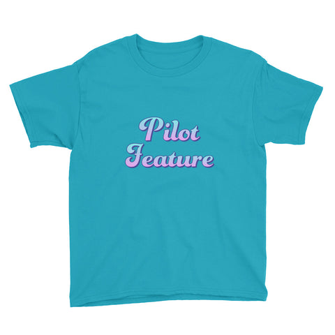 "Short sleeve kids t-shirt ""Pilot Feature"" (8 yrs-) - ART GOODS SHOP"