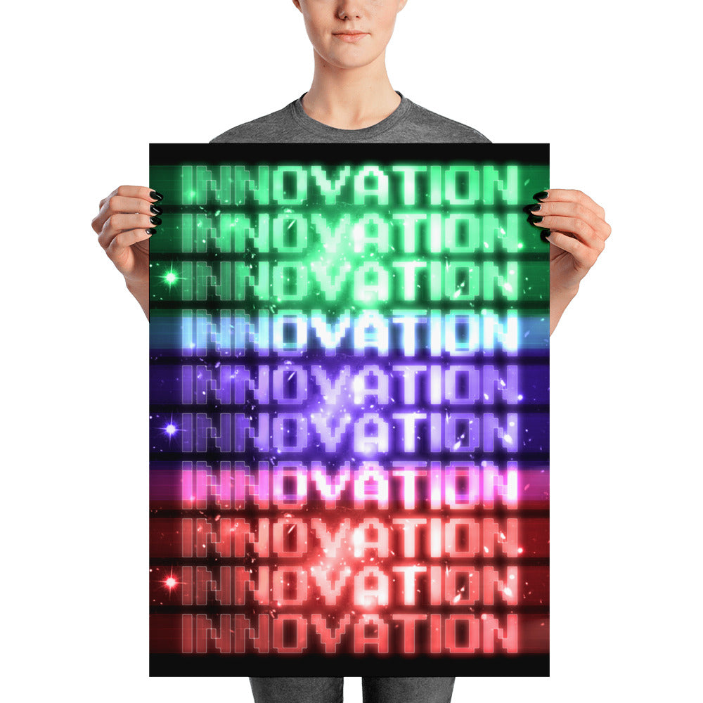 "Premium Art poster ""INNOVATION""  - ART GOODS SHOP"
