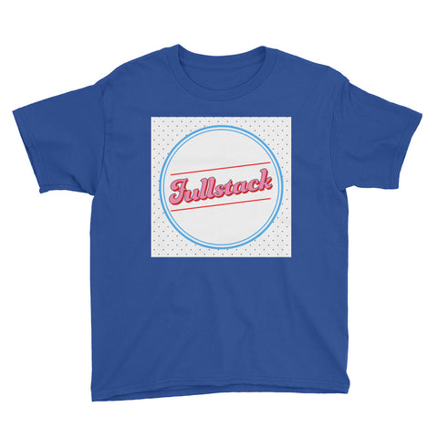 "Short sleeve kids t-shirt ""Fullstack"" (8 yrs-) - ART GOODS SHOP"