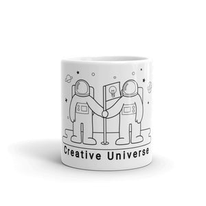 "Mug ""Creative Universe"" - ART GOODS SHOP"