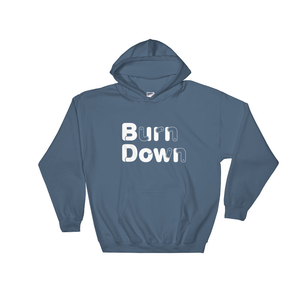 "Developer's Hoodie ""Burn Down""  - ART GOODS SHOP"