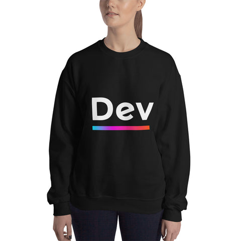 "Developer's Sweatshirt ""Dev"" ( no copy ) - ART GOODS SHOP"