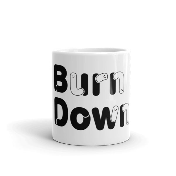 "Developer's Mug ""Burn Down"" - ART GOODS SHOP"