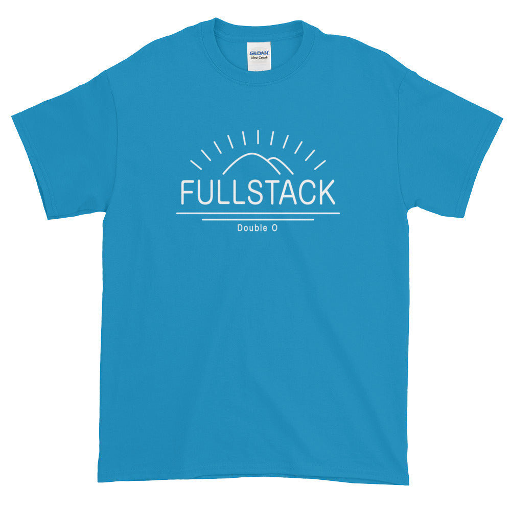 "Developer's Unisex Ultra Cotton Color T-Shirt ""Full Stack"" ☕️  - ART GOODS SHOP"